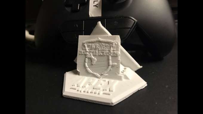 Our custom 3D Printed Gaming League Apex Legends Trophy