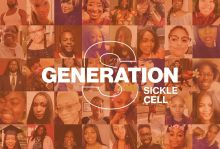 Genation S Logo; College of people with sickle cell